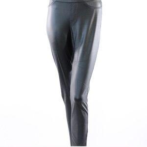 Small Faux Leather HUE leggings